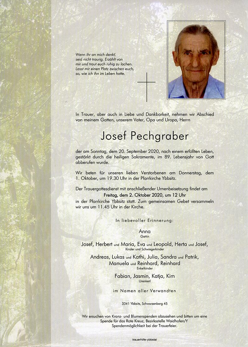 Parte Josef Pechgraber