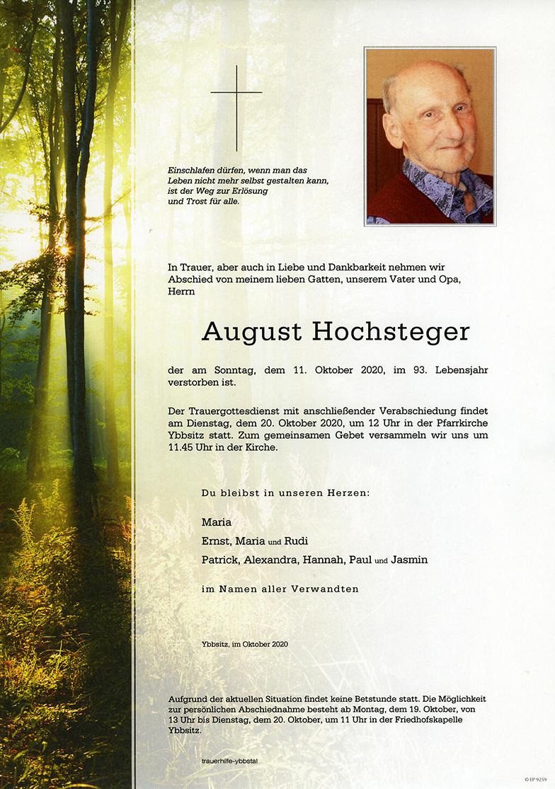 Parte August Hochsteger