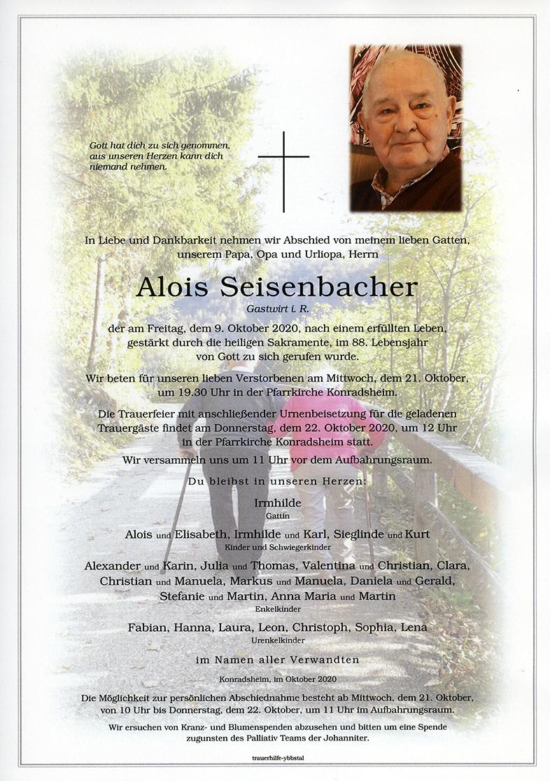 Parte Alois Seisenbacher