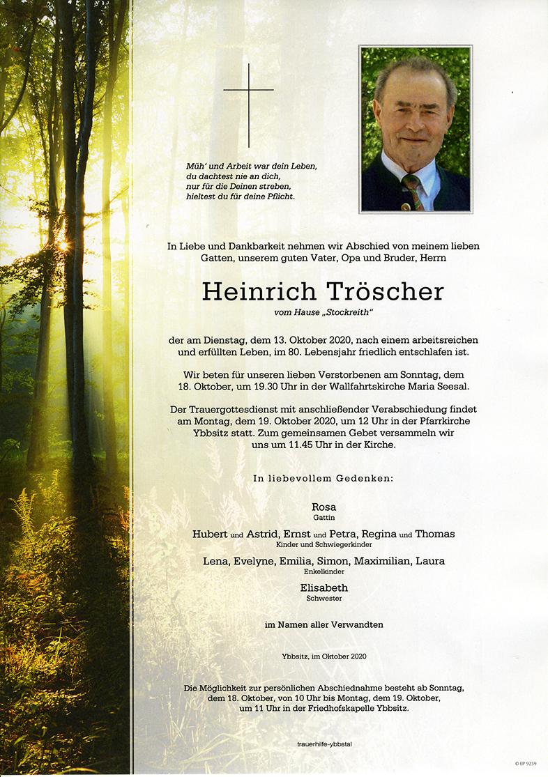 Parte Heinrich Tröscher