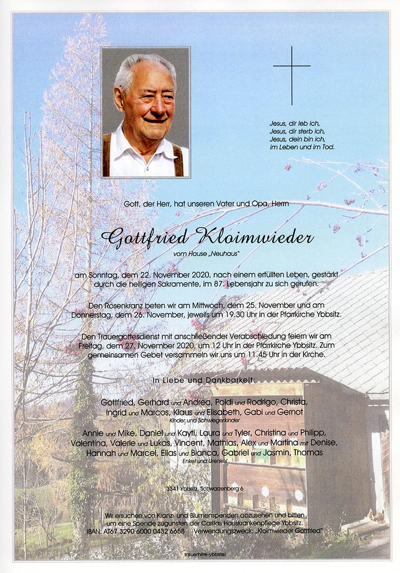 Parte Gottfried Kloimwieder
