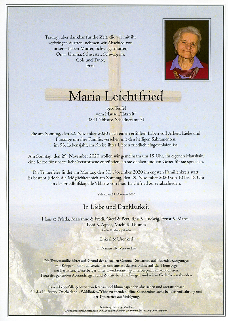 Parte Maria Leichtfried