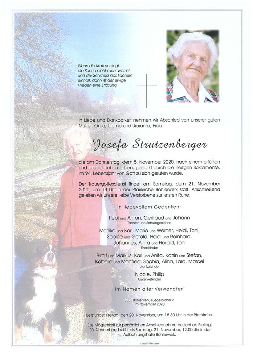 Parte Josefa Strutzenberger