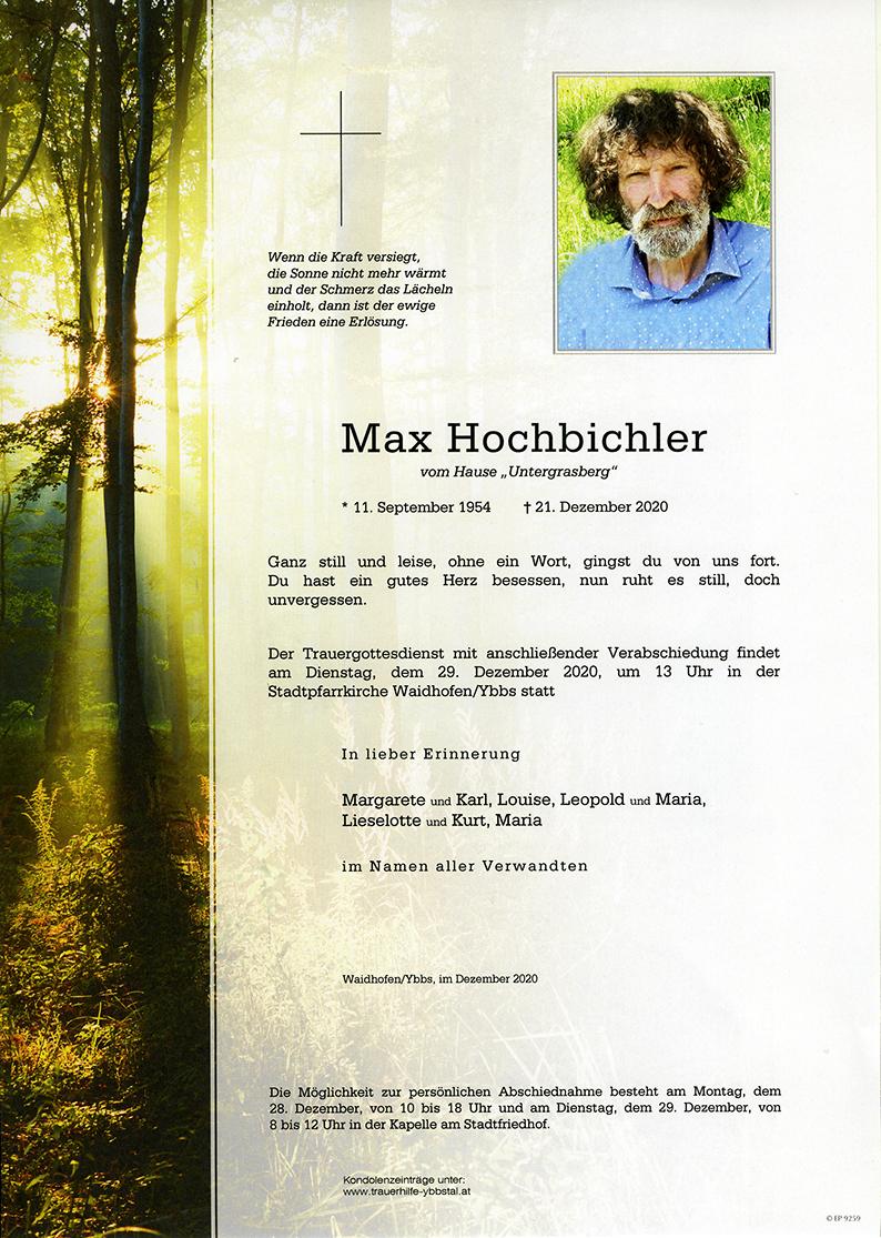 Parte Max Hochbichler