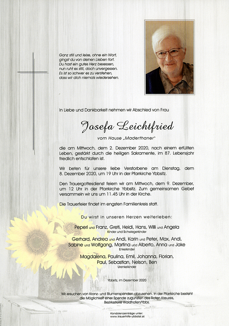 Parte Josefa Leichtfried