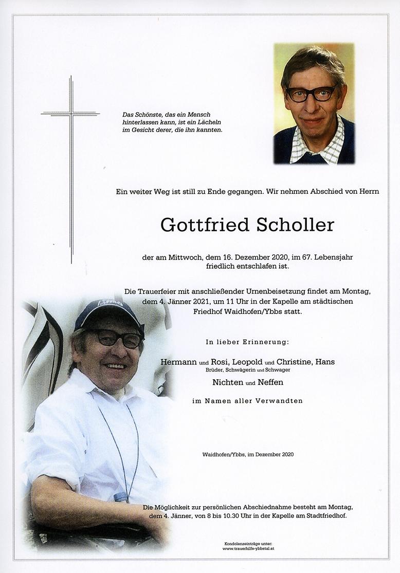 Parte Gottfried Scholler