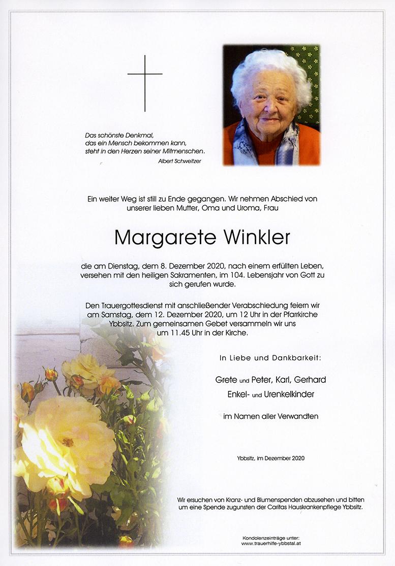 Parte Margarete Winkler