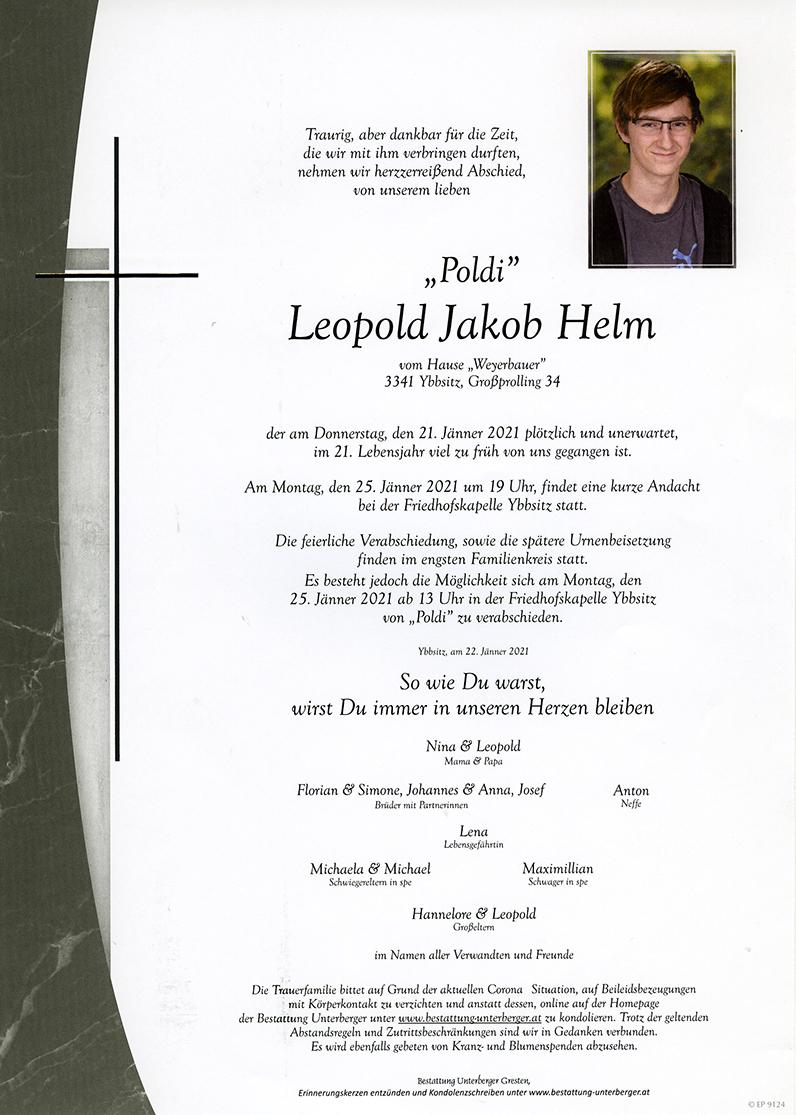 Parte Leopold Jakob Helm
