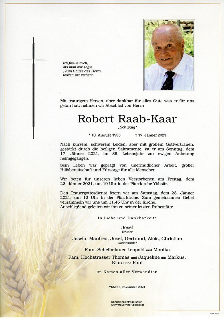 Parte Robert Raab-Kaar