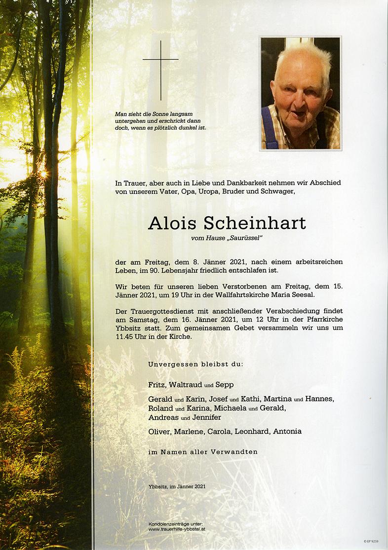 Parte Alois Scheinhart
