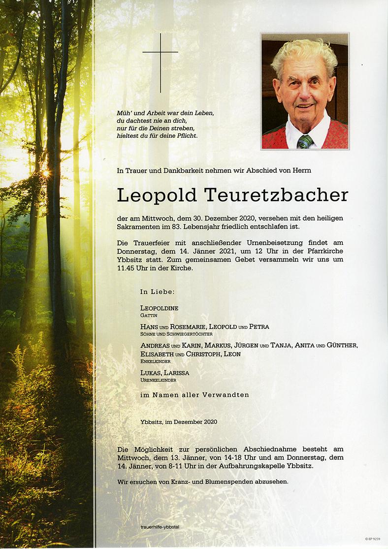 Parte Leopold Teuretzbacher