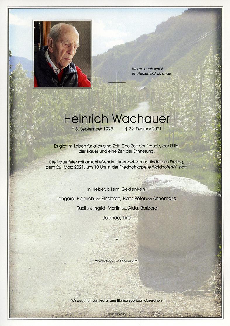 Parte Heinrich Wachauer