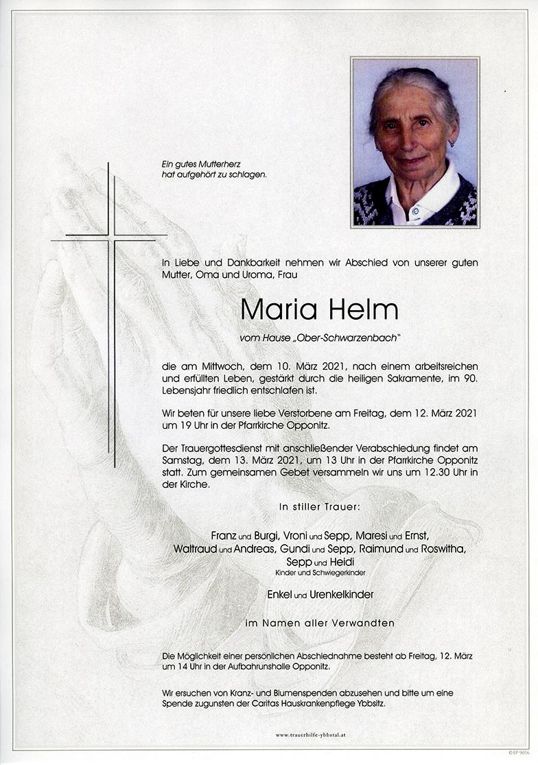 Parte Maria Helm