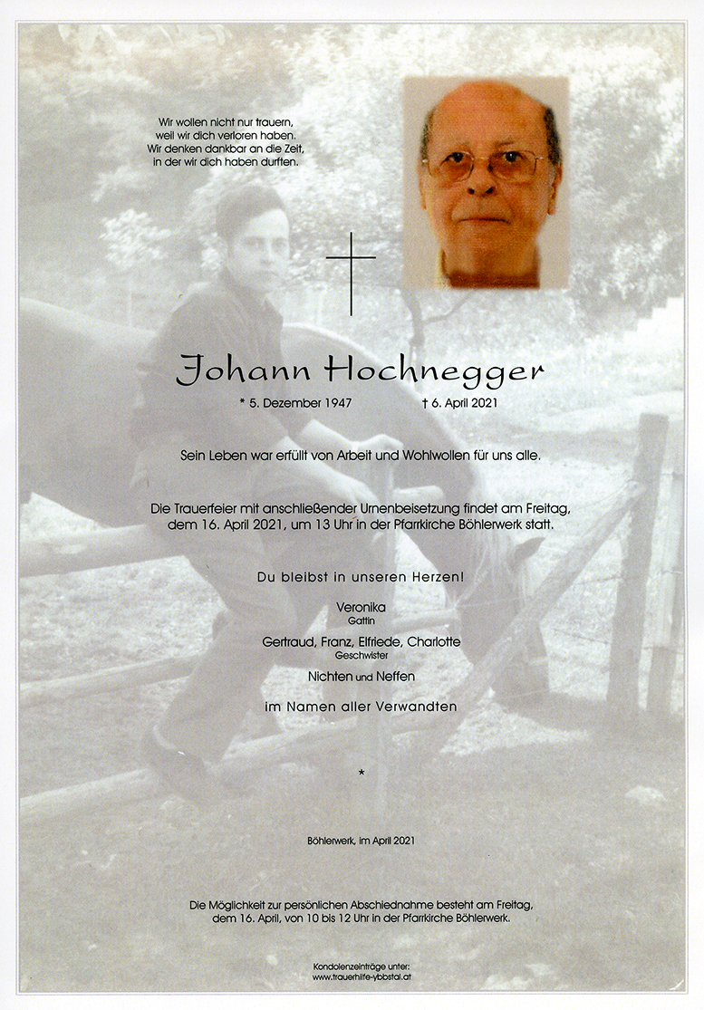 Parte Johann Hochnegger