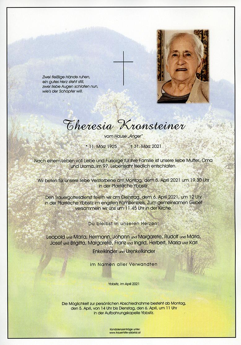 Parte Theresia Kronsteiner
