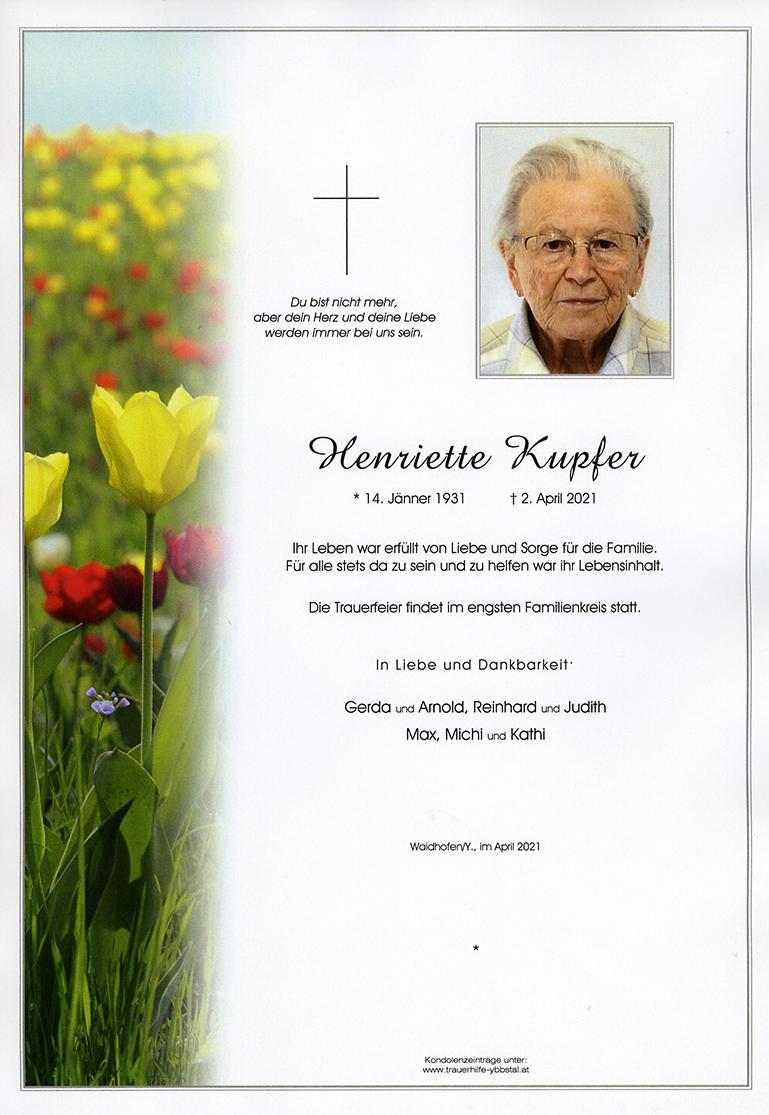 Parte Henriette Kupfer