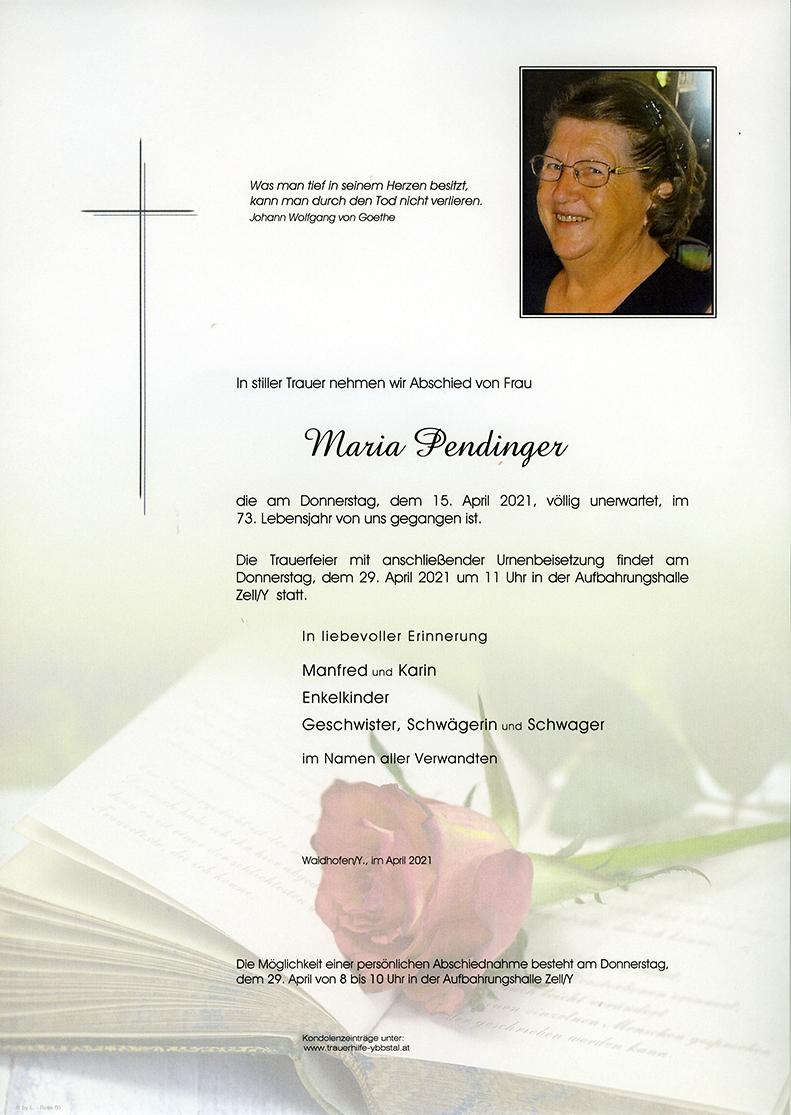Parte Maria Pendinger