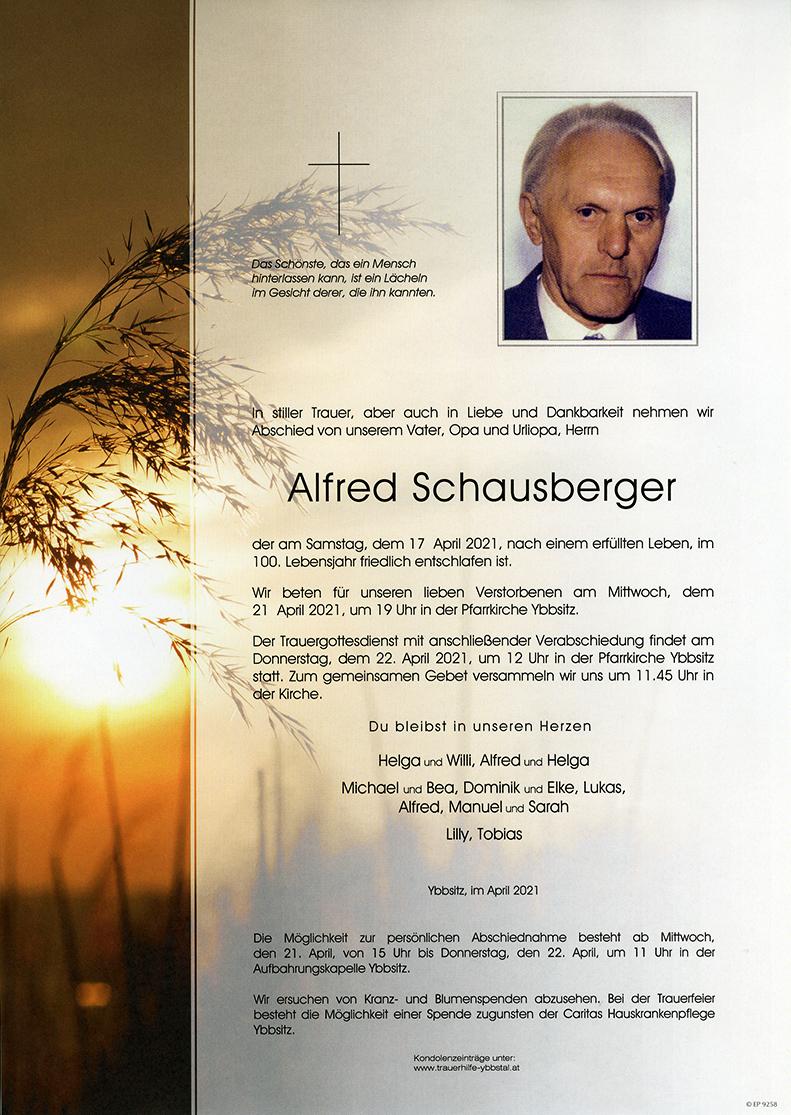 Parte Alfred Schausberger