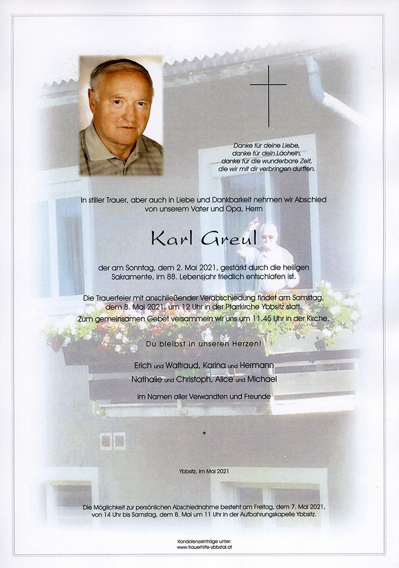 Parte Karl Greul