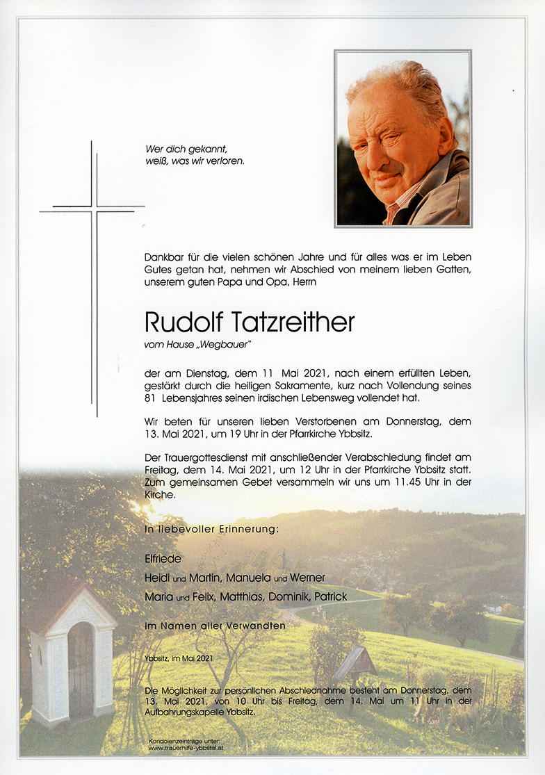 Parte Rudolf Tatzreither
