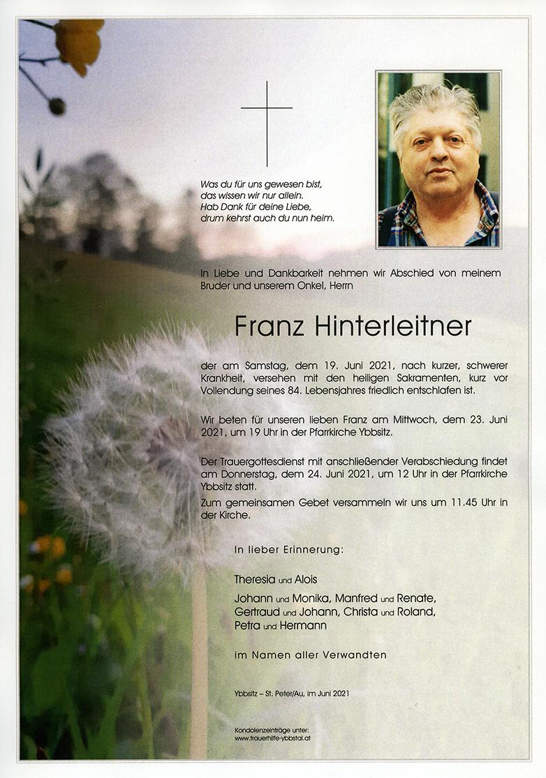 Parte Franz Hinterleitner