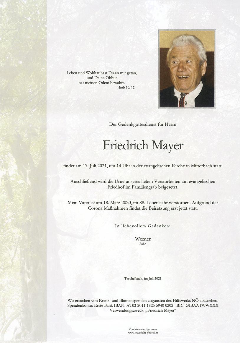 Parte Friedrich Mayer