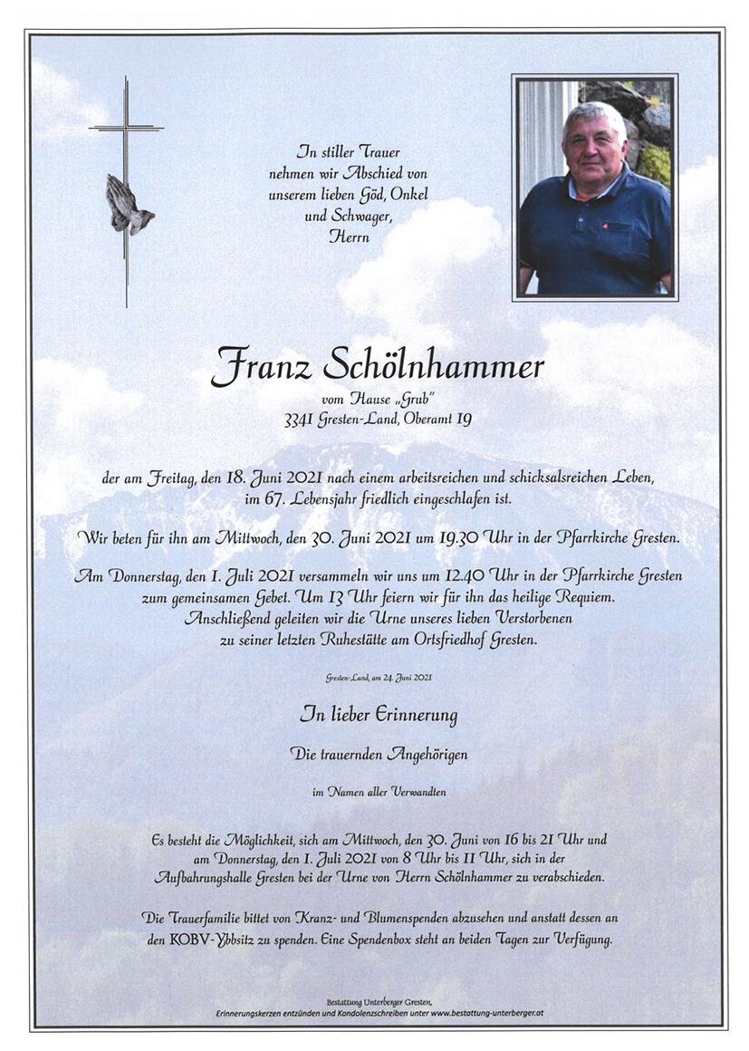 Parte Franz Schölnhammer