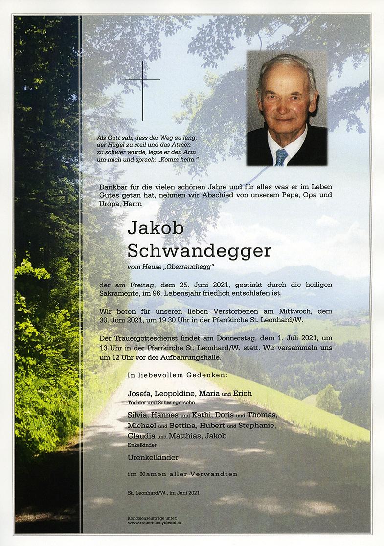 Parte Jakob Schwandegger