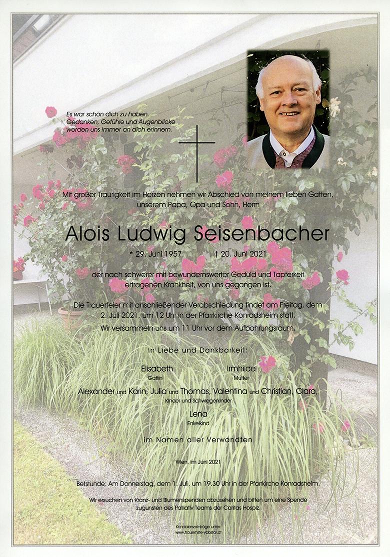 Parte Alois Ludwig Seisenbacher