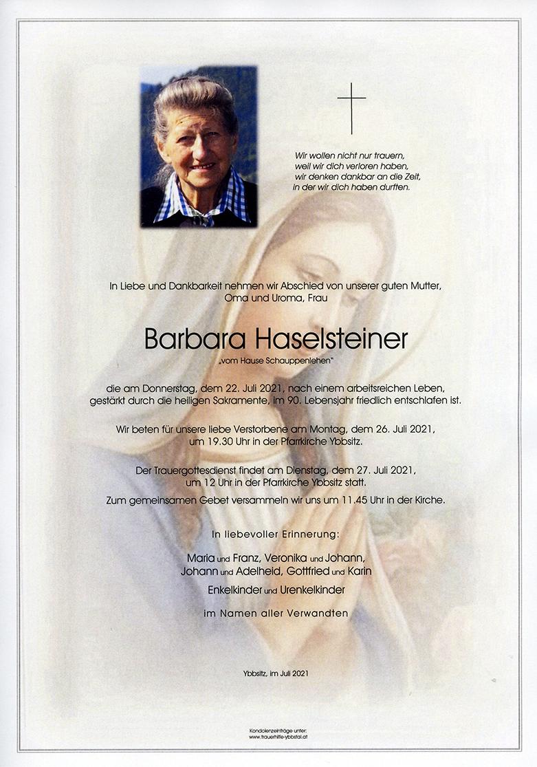 Parte Barbara Haselsteiner