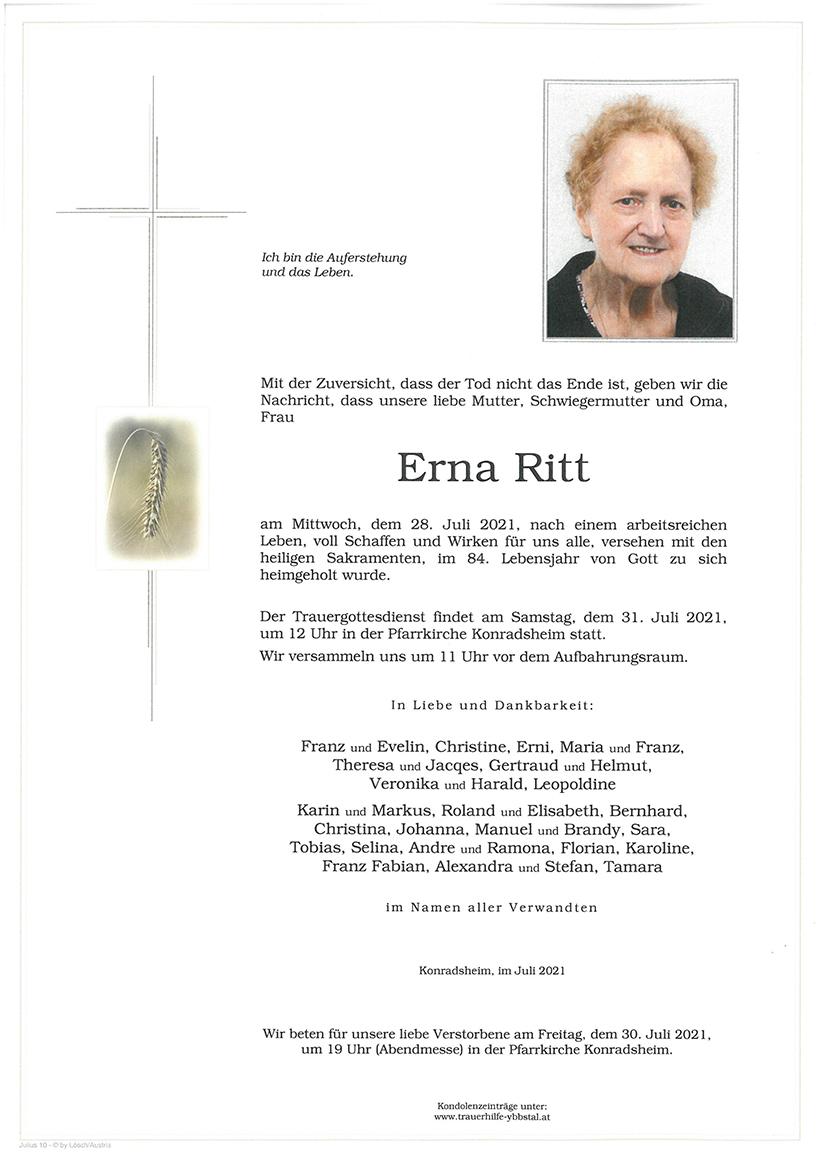 Parte Erna Ritt