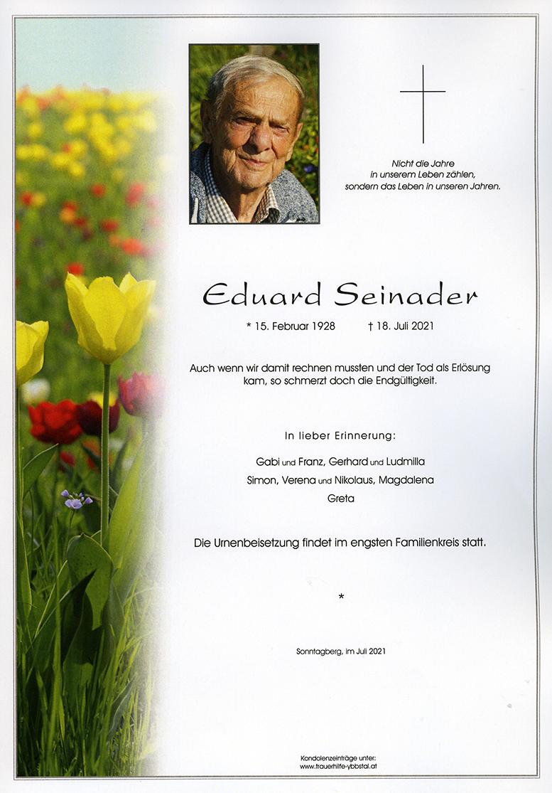Parte Eduard Seinader