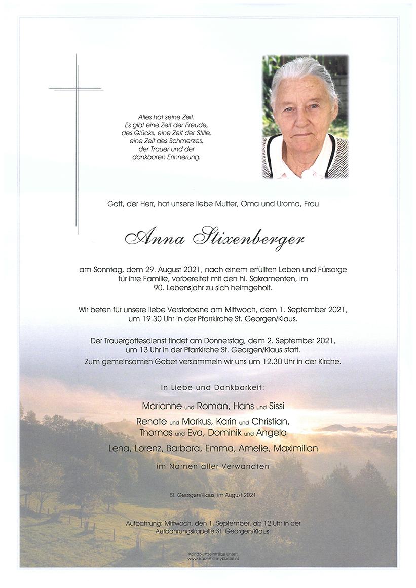 Parte Anna Stixenberger