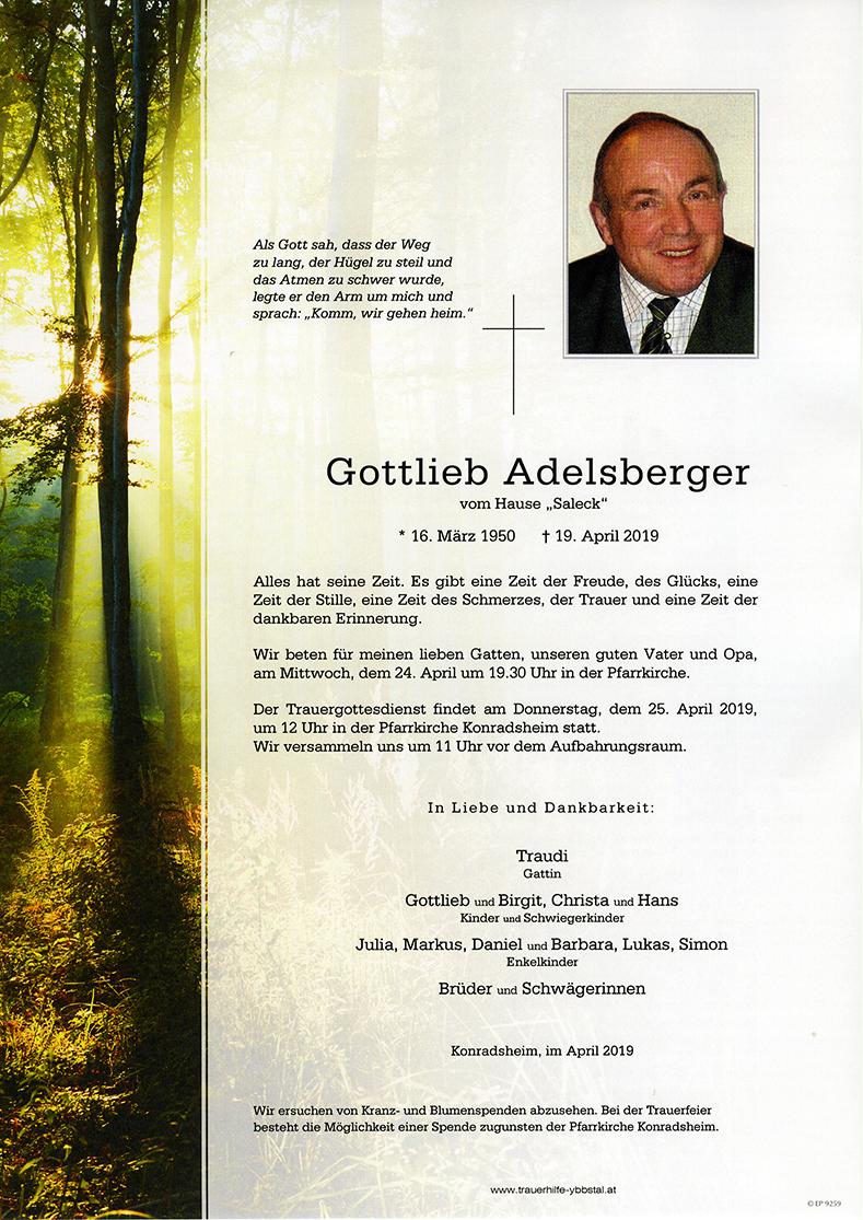 Parte Gottlieb Adelsberger