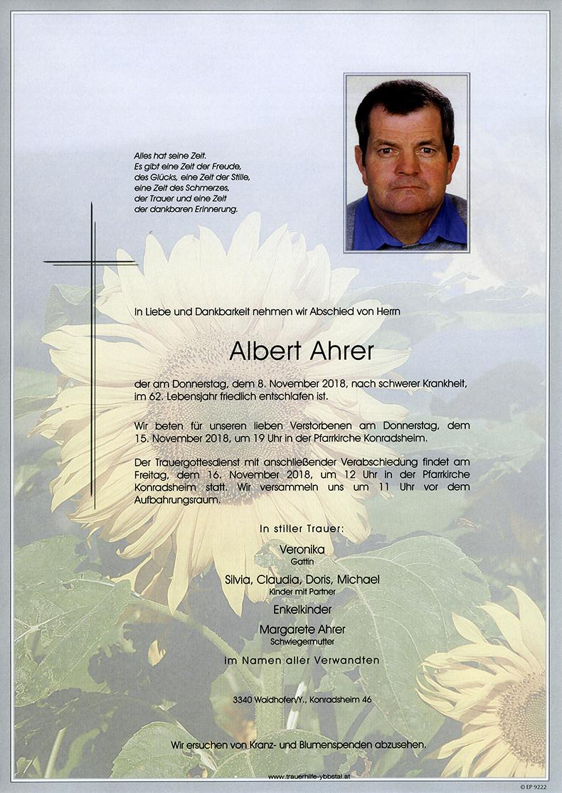 Parte Albert Ahrer
