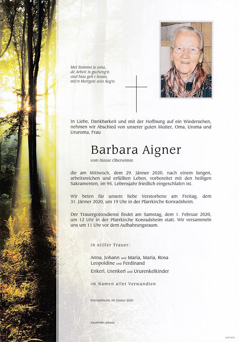 Parte Barbara Aigner