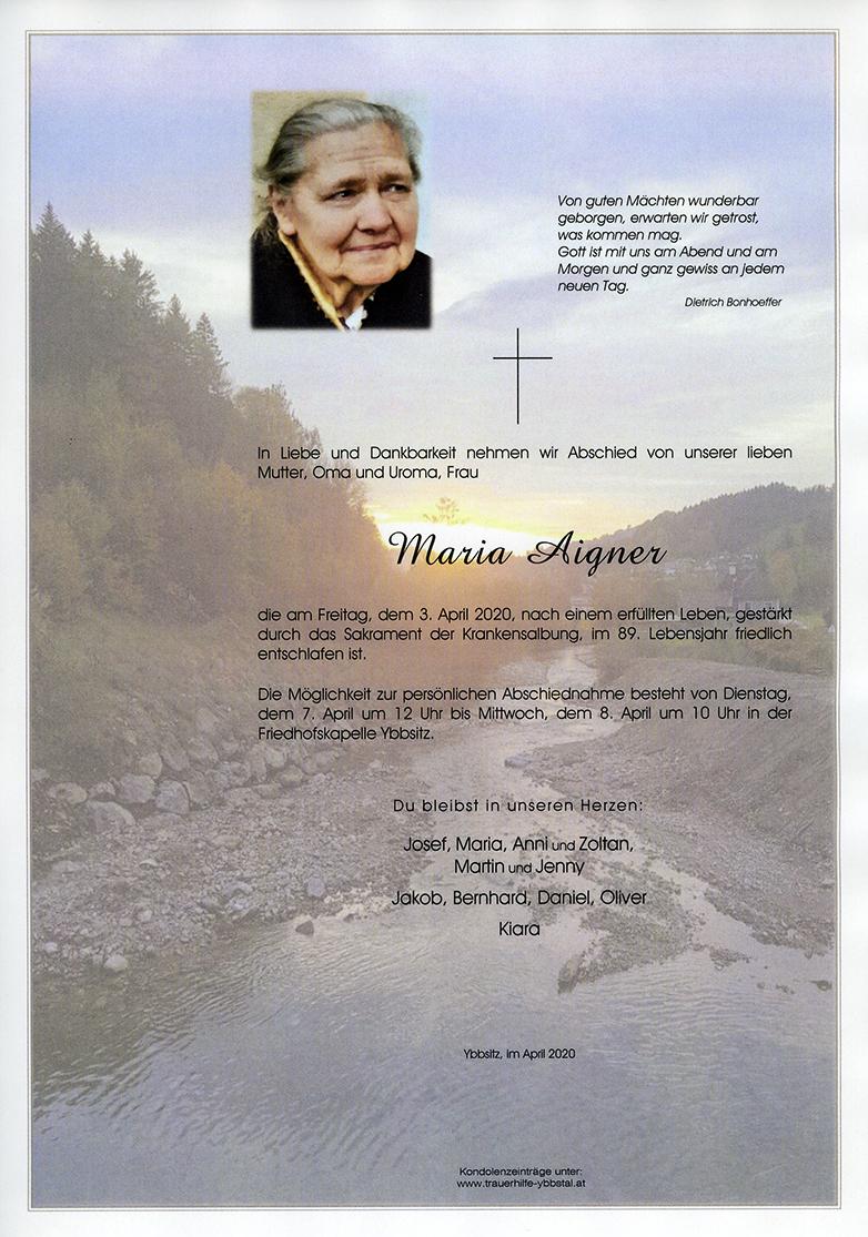Parte Maria Aigner