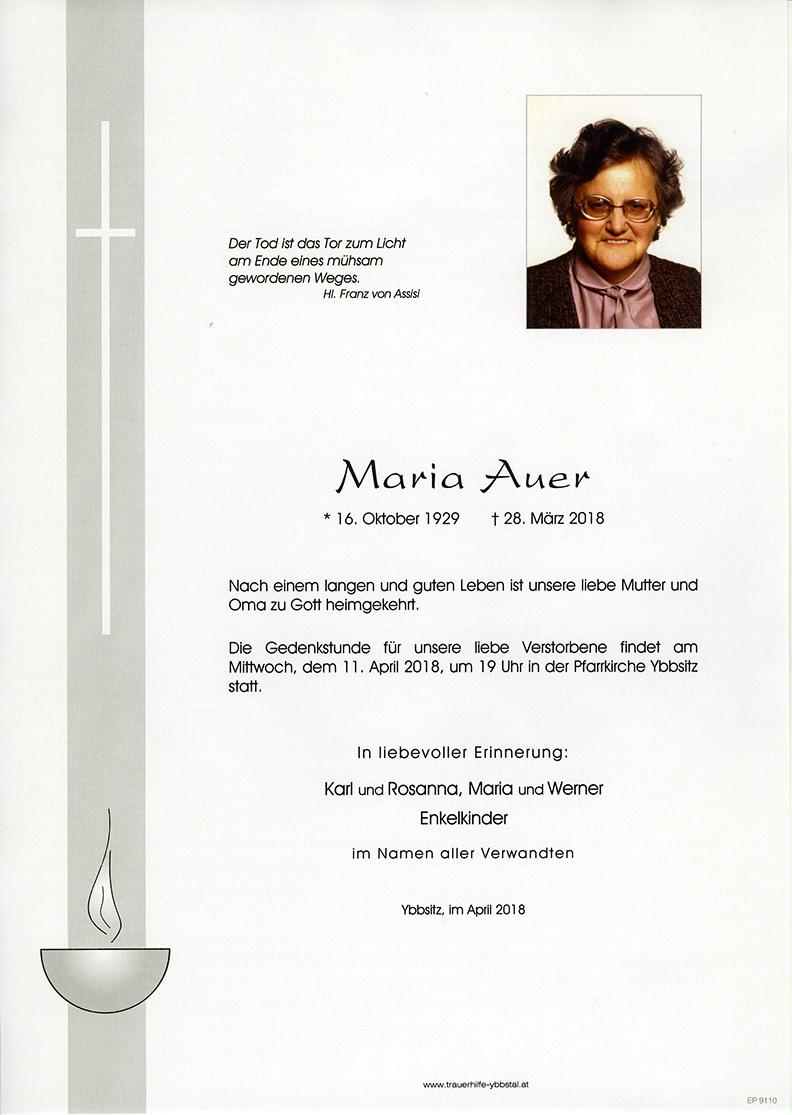 Parte Maria Auer