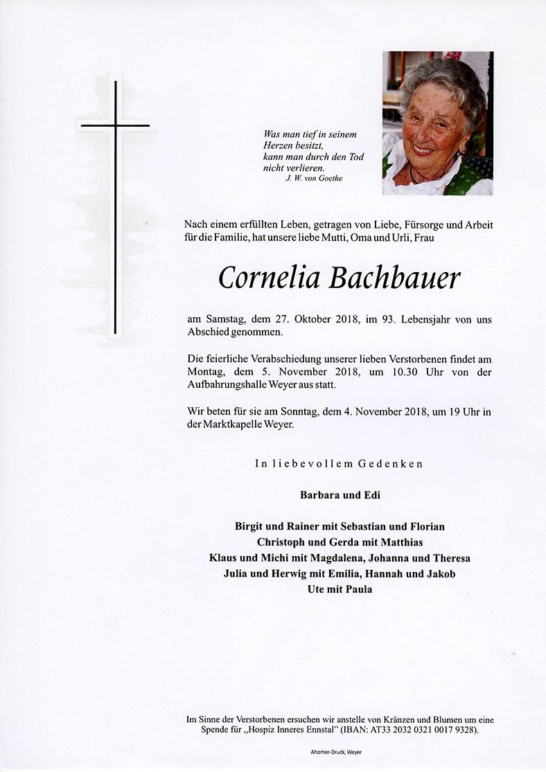 Parte Cornelia Bachbauer