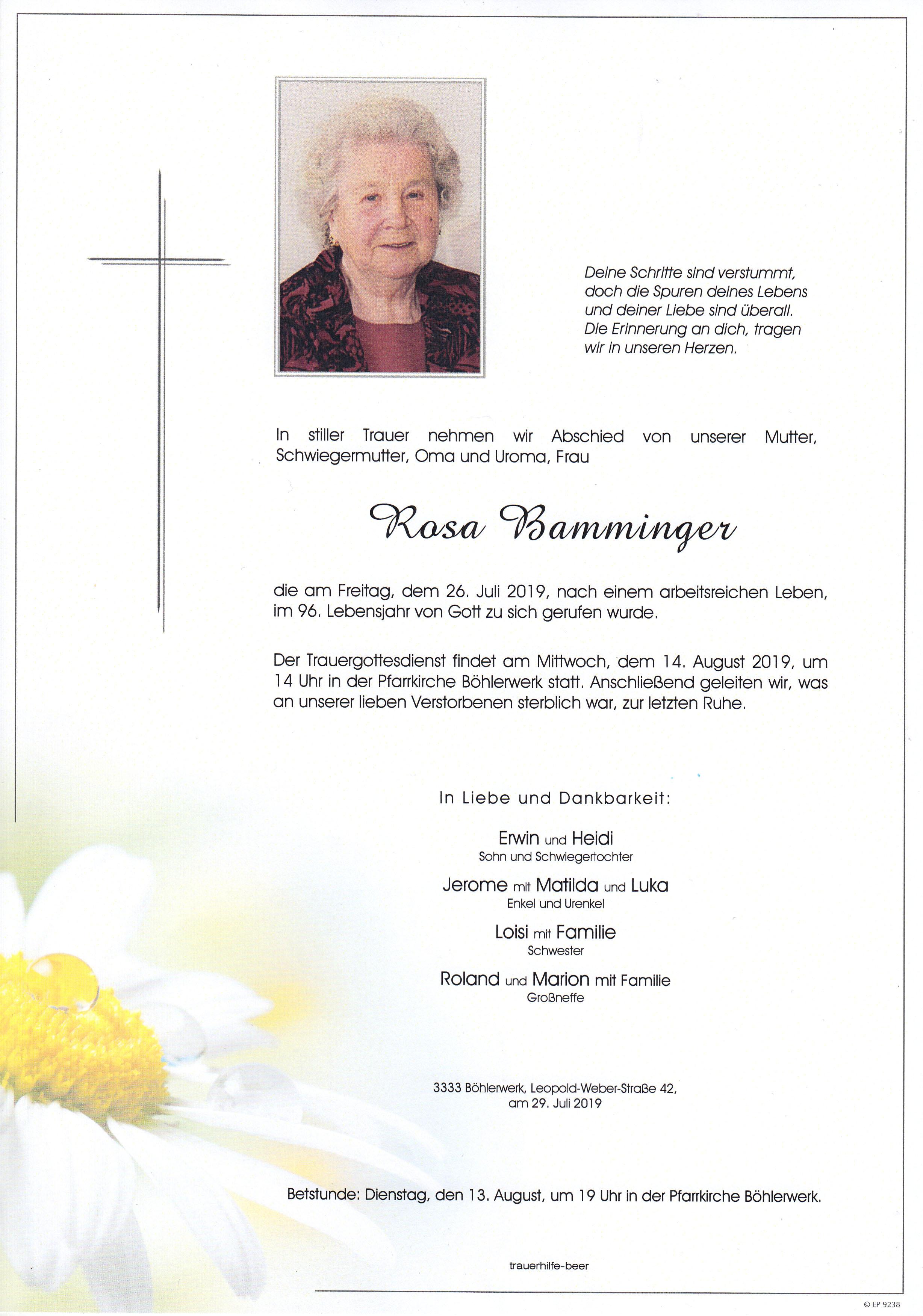 Parte Rosa Bamminger