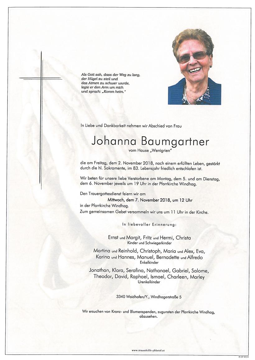 Parte Johanna Baumgartner