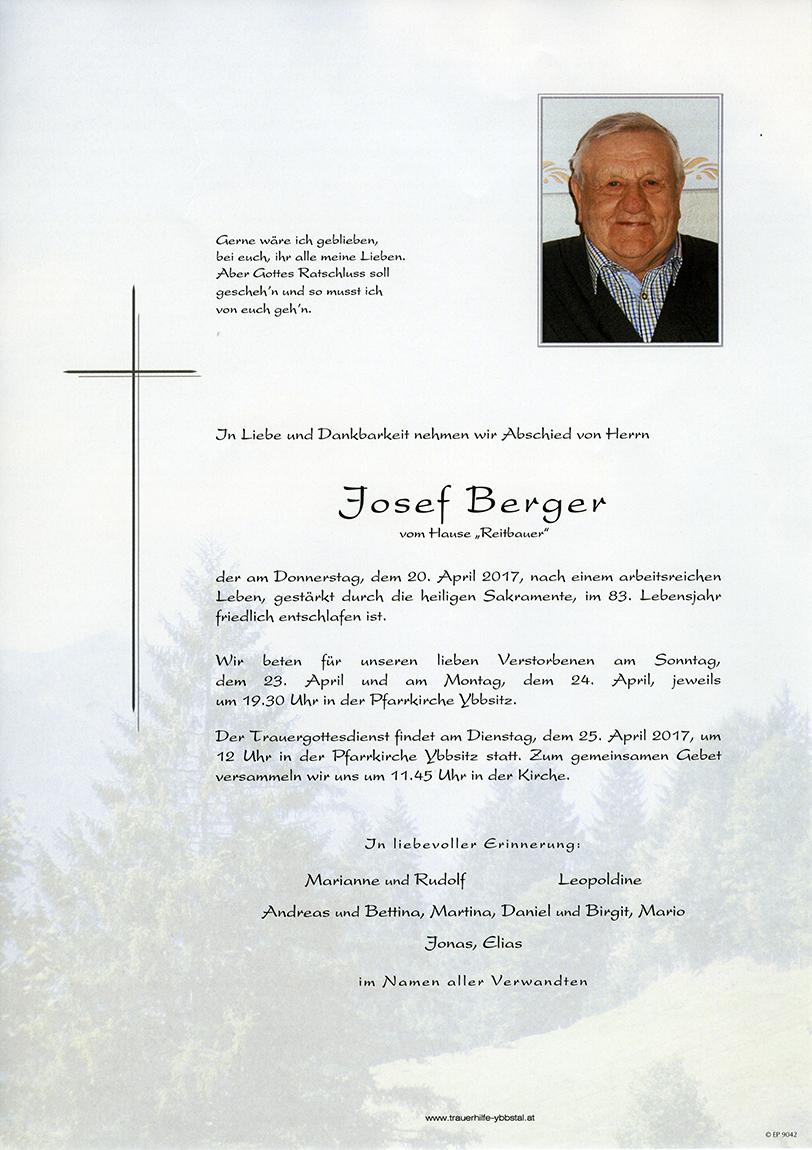 Parte Josef Berger