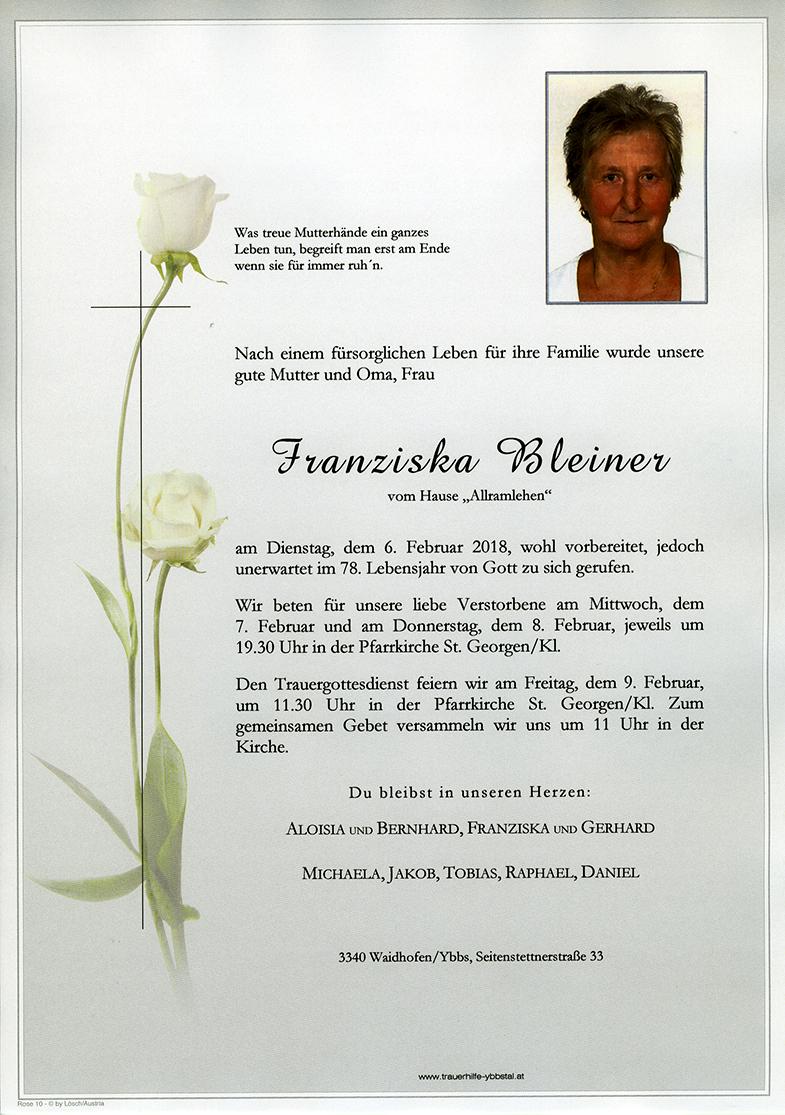 Parte Franziska Bleiner