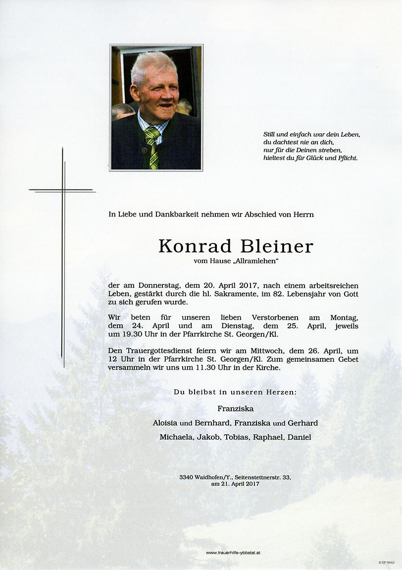 Parte Konrad Bleiner