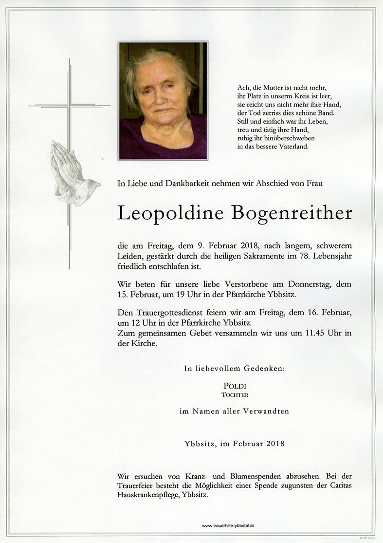 Parte Leopoldine Bogenreither