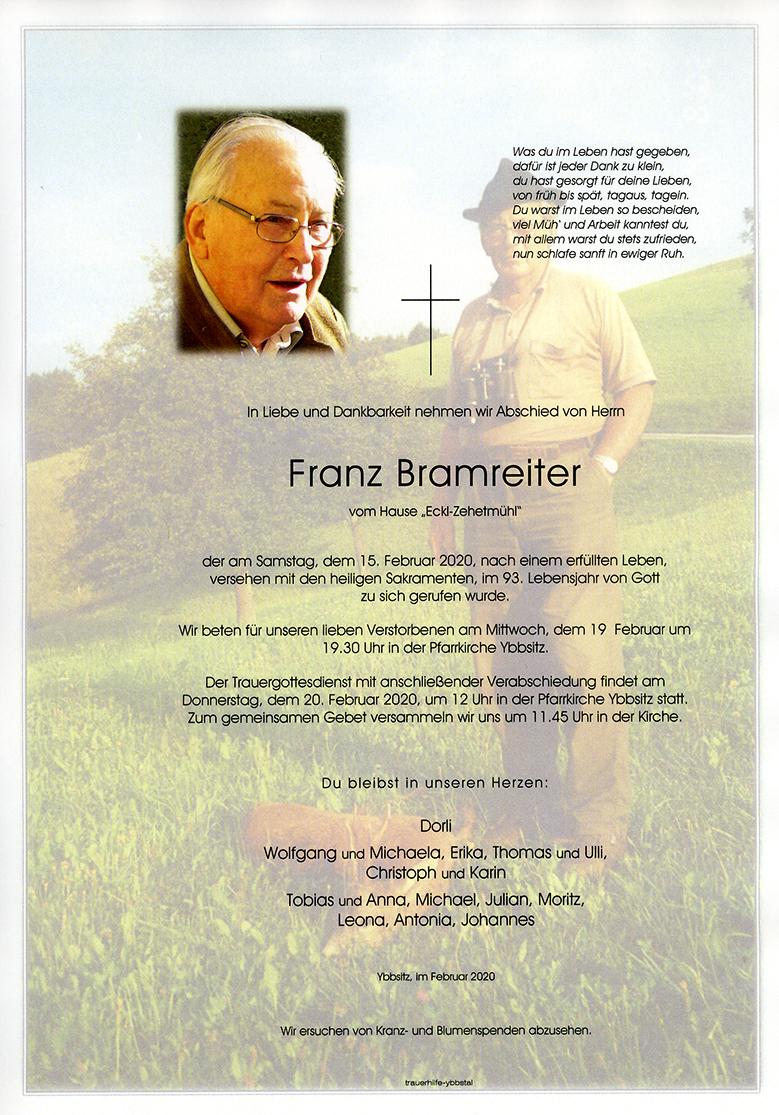 Parte Franz Bramreiter