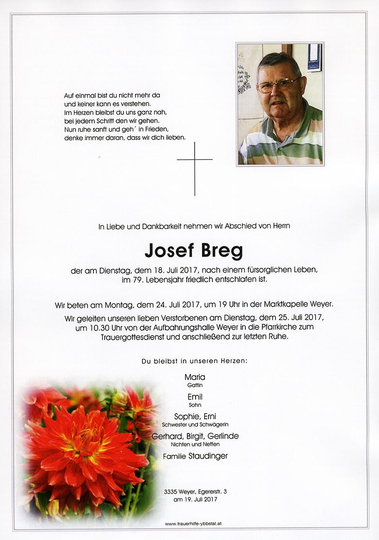 Parte Josef Breg