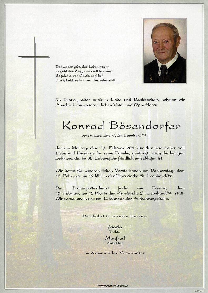 Parte Konrad Bösendorfer