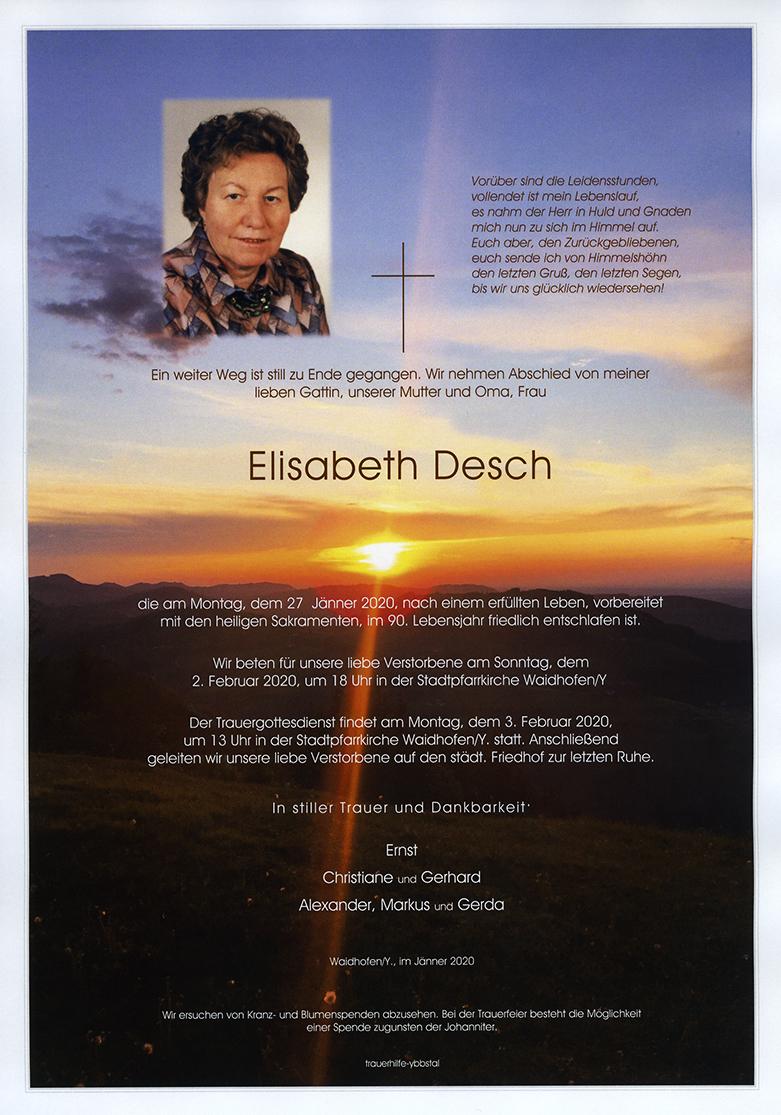 Parte Elisabeth Desch