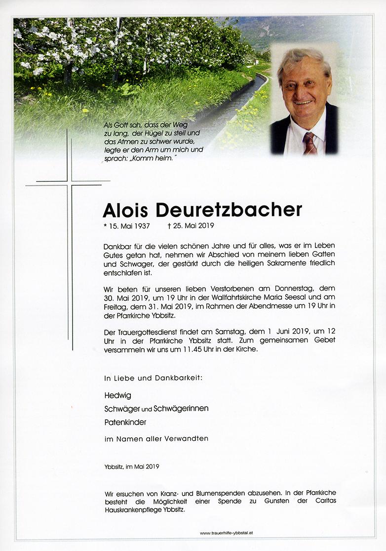 Parte Alois Deuretzbacher